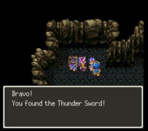 Thunder...THUNder...THUNDERCATS HOOOO.  Hmf, didn't work.
