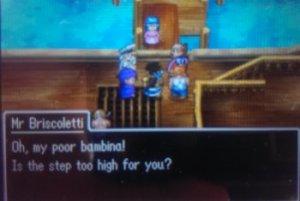 Whoa...they speak Spanish in this game.