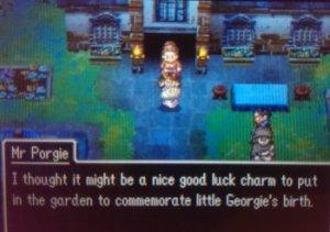 The first RPG where I'm a garden gnome.