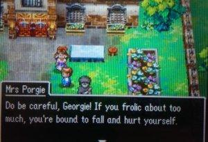 Get it?  Georgie Porgie? Hahahah.